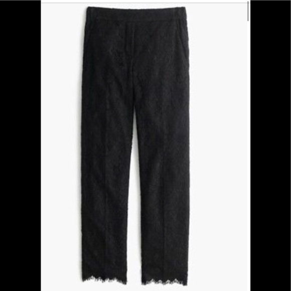 68b7d444 NWT J. Crew Easy Lace Pants, Size 10 Tall Boutique